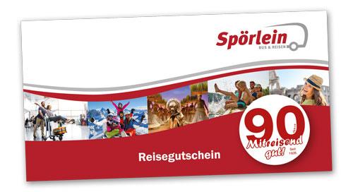 Reise-Gutschein kaufen bei Spörlein Bus & Reisen Burgebrach