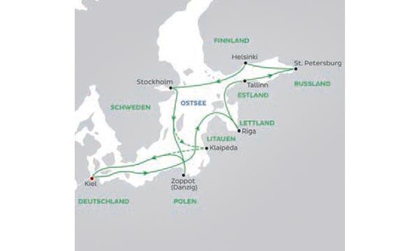 Kreuzfahrt Baltikum