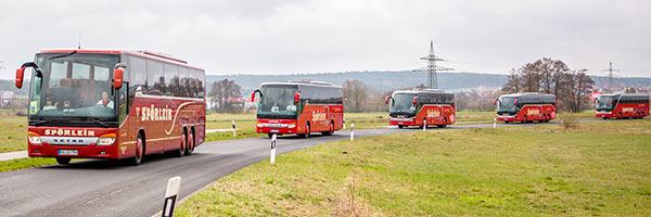 Sicher reisen mit Spörlein Bus & Reisen Burgebrach